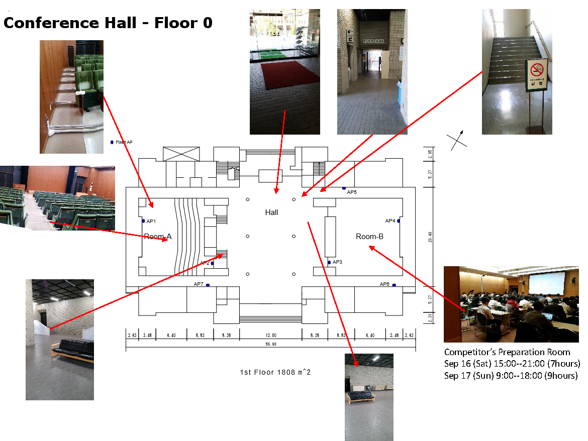 1st floor areas